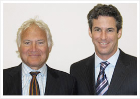 Workers compensation attorneys Robert Briskman and Paul Greenberg