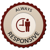 always responsive