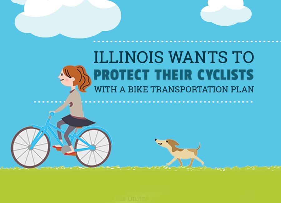 Illinois Bike Safety Plan - Infographic
