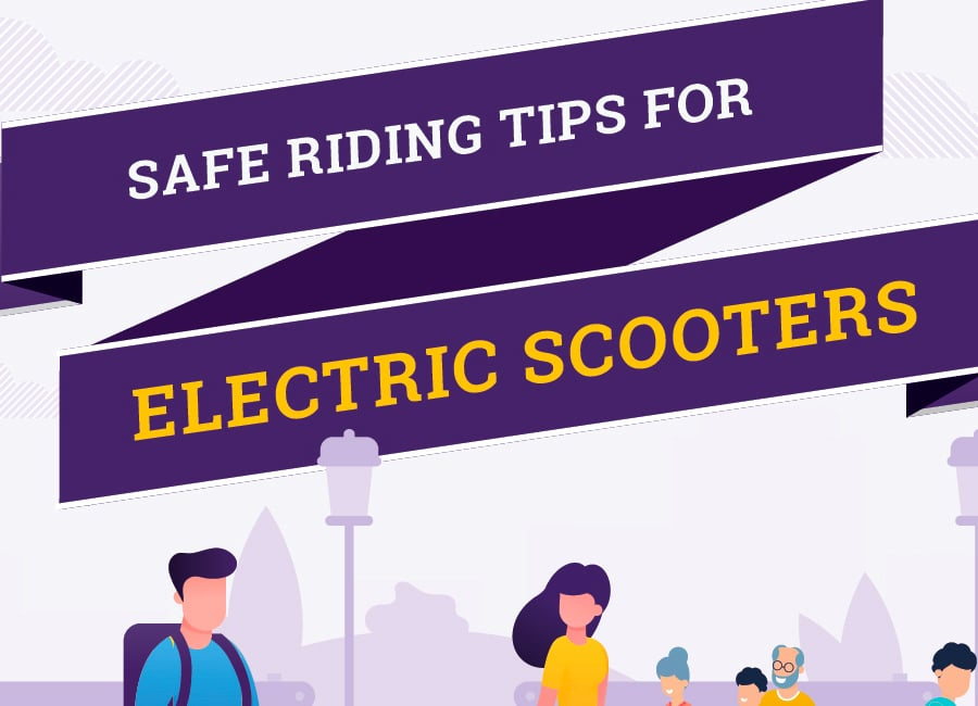 E-Scooter Safety Tips