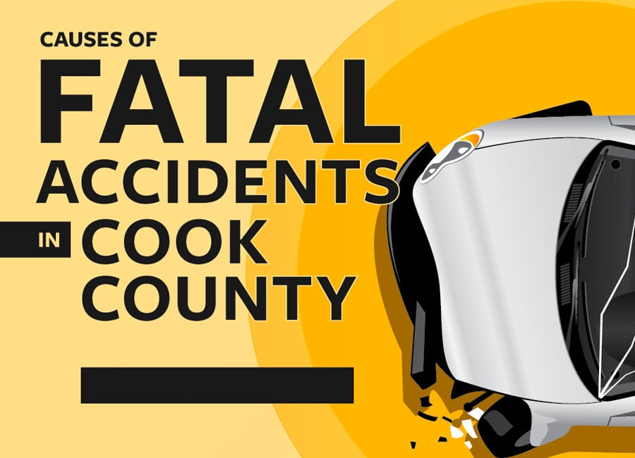 Fatal Car Accidents in Cook County - Infographic