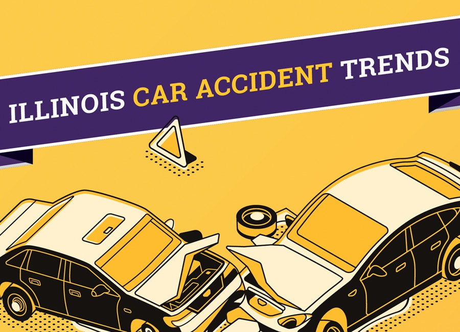 Illinois Car Accident Trends - Infographic